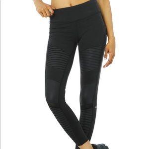 Alo yoga Moto Leggings black